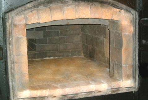 the pet cremation chamber