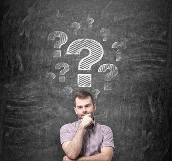 Man thinking about individual pet cremation questions