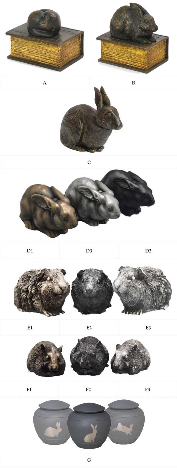 option 13 resin animal statue urns